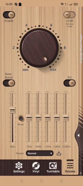 Vinylage Music Player: Trình chơi nhạc Android mô phỏng giao diện đĩa than