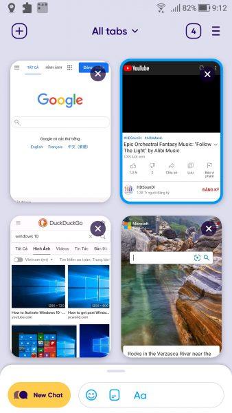 Wave: trình duyệt khép kín dành cho Android