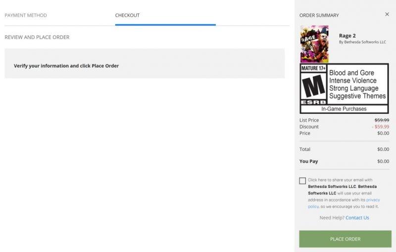 Đang miễn phí 2 game Absolute Drift Zen Edition và RAGE 2