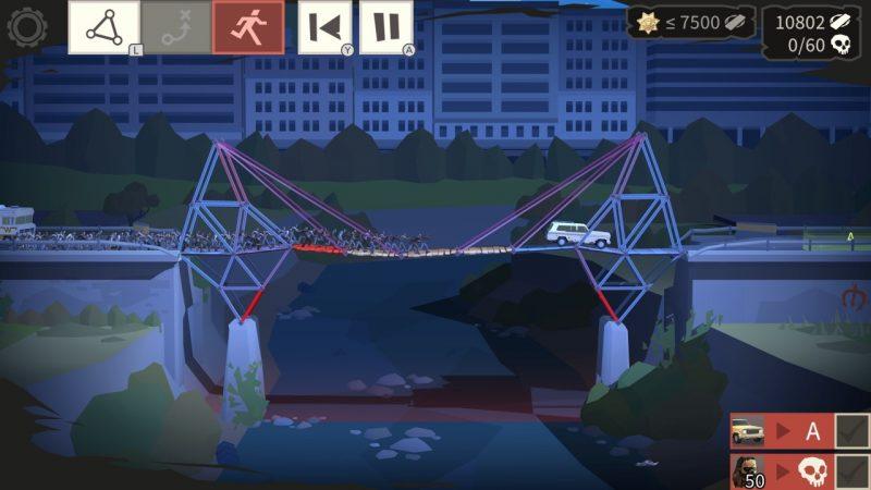 Đánh giá game Bridge Constructor: The Walking Dead