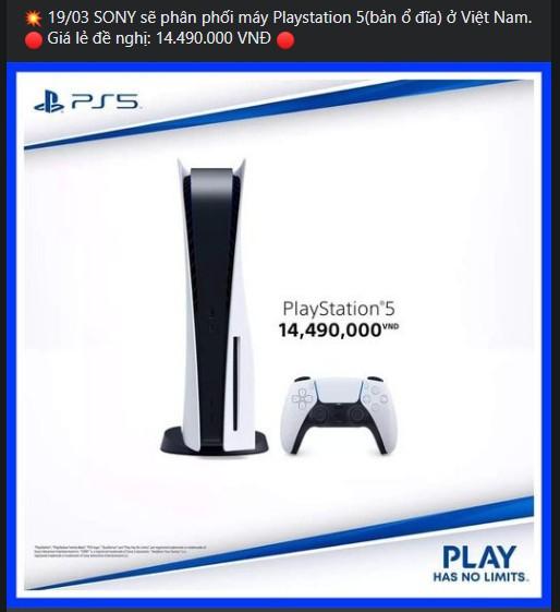 Playstation 5 sắp được ra mắt tại Việt Nam