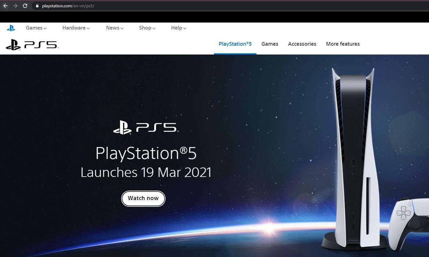 Playstation 5 Việt Nam