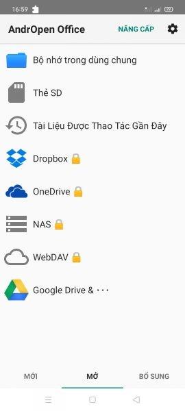 AndrOpen Office: Chỉnh sửa tài liệu Office miễn phí trên Android