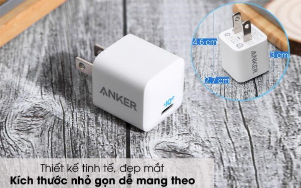 """ANKER Powerport III Nano 20W – Bộ sạc nhanh, """"nhỏ mà có võ"""""""