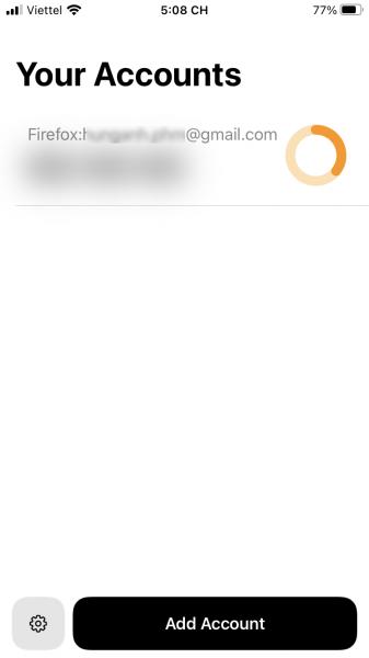 Bulwark: Ứng dụng lấy mã xác thực 2 bước đẹp mắt và miễn phí cho iOS