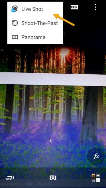 Camera MX: Tạo ảnh Live Photo giống iPhone trên Android