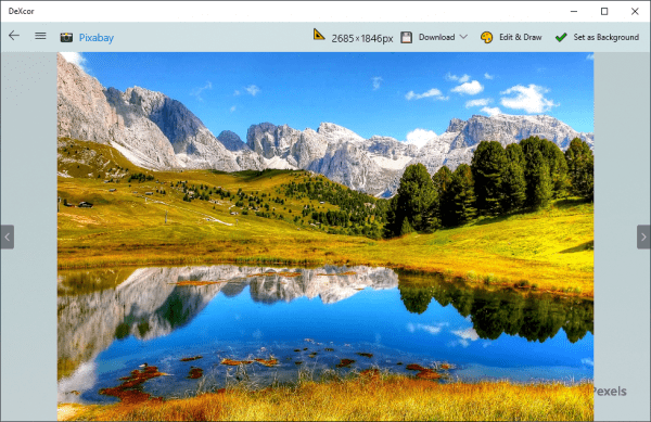 DeXcor: Lựa chọn tuyệt vời để chỉnh sửa, tải ảnh 4K trên Windows 10