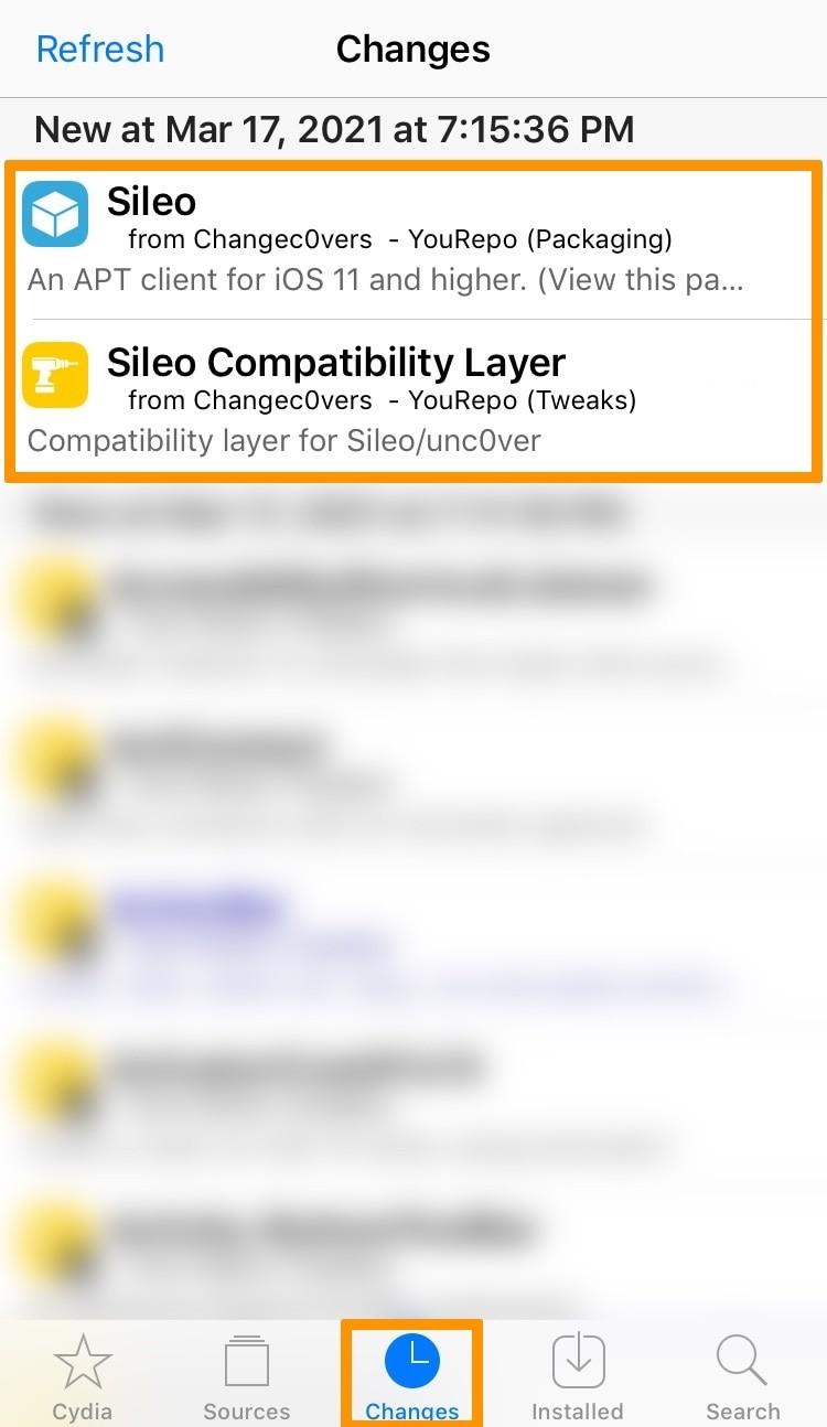 Cách cài đặt Sileo vào bị jailbreak bằng checkra1n hay unc0ver