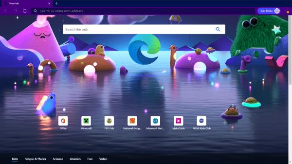 Cách bật và sử dụng Kids Mode trên Microsoft Edge