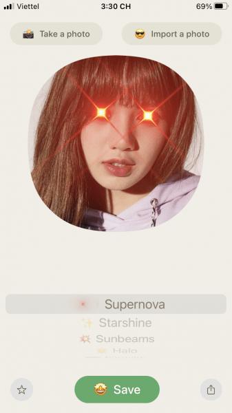 Laserhouse: Tạo ảnh avatar phóng tia laser như Superman