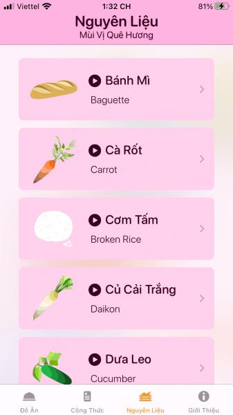 Not Phở: Ứng dụng nấu ăn Việt Nam cho người Việt và nước ngoài