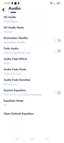 Nyx Music Player: Hẹn giờ phát nhạc trên Android