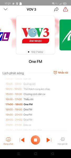 TuneFM: Ứng dụng sách nói, tiểu thuyết, radio,… có thể tải về miễn phí