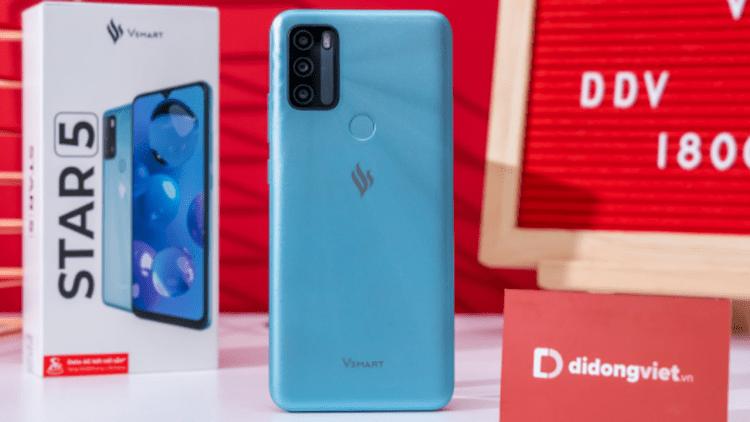 Di Động Việt mở bán Vsmart Star 5 giá 2,34 triệu, tặng thêm 10GB DATA 1 tháng, sử dụng trong 18 tháng