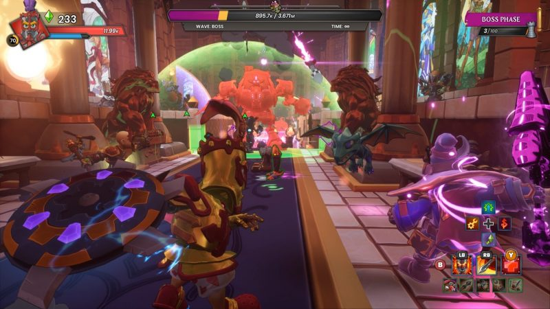 Đánh giá game Dungeon Defenders: Awakened