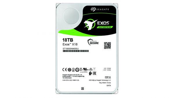 Seagate ra mắt dòng ổ cứng doanh nghiệp Exos 18TB