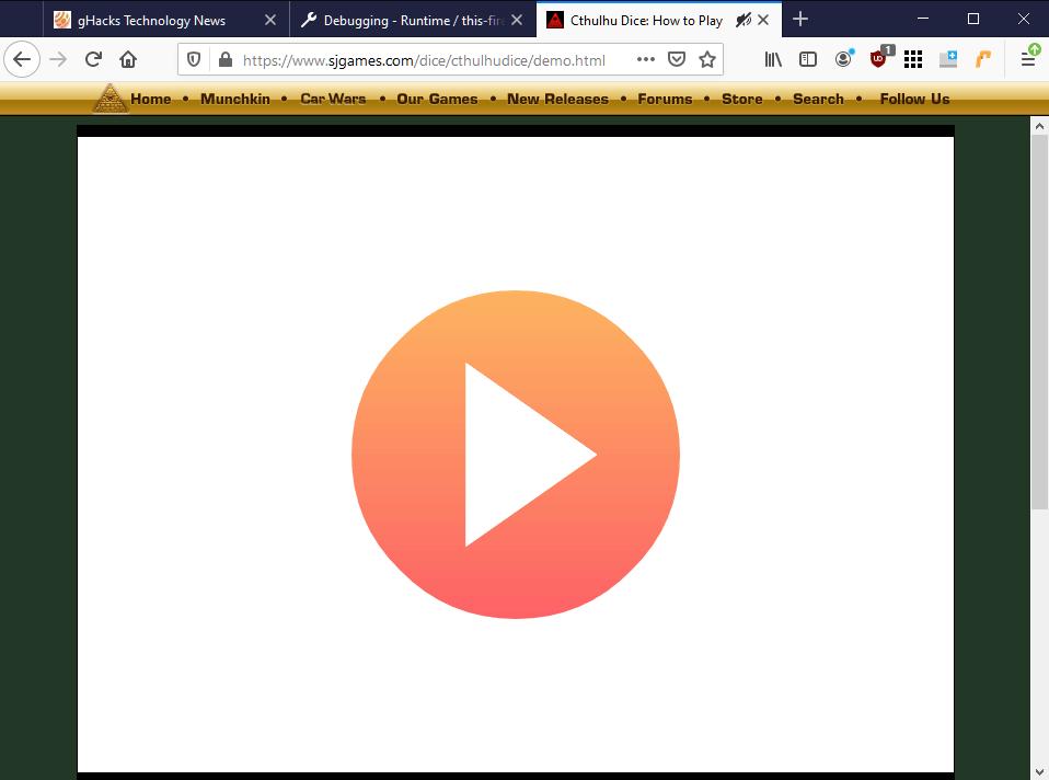 Cách chạy game flash trên trình duyệt Firefox