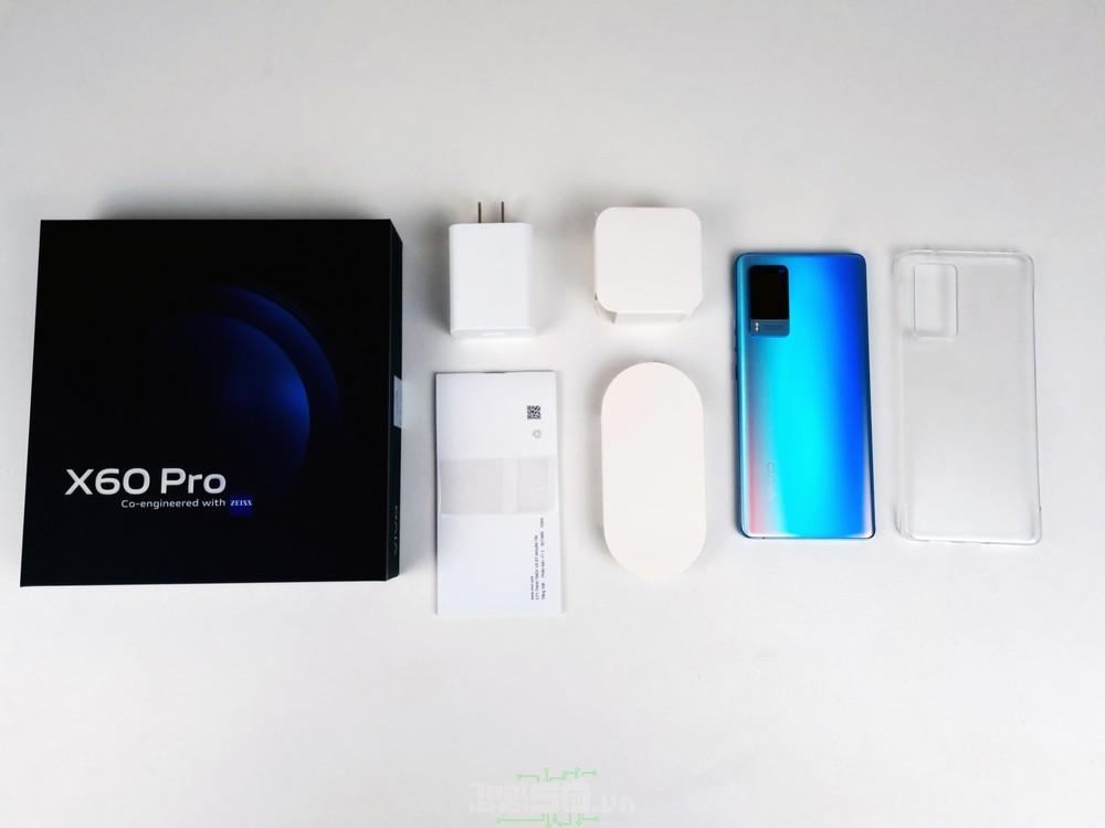 Trong hộp vivo X60 Pro có gì?