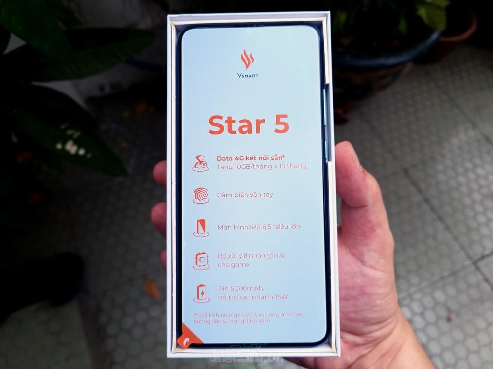 Nhãn dán Vsmart Star 5