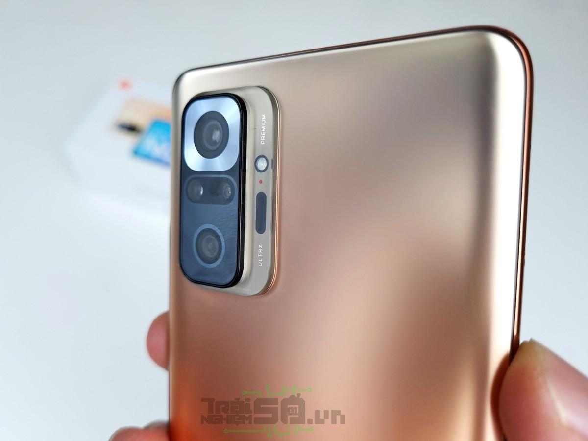 Cụm 4 camera Redmi Note 10 Pro
