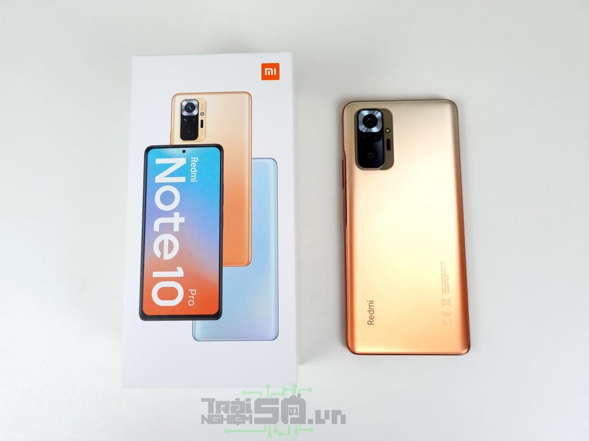 Trên tay Redmi Note 10 Pro