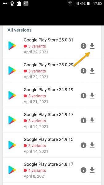 3 Cách cập nhật Google Play lên phiên bản mới nhất