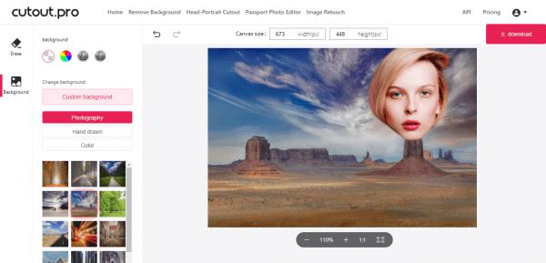 Tách nền ảnh, tạo ảnh avatar, ảnh thẻ ID với Cutout.Pro