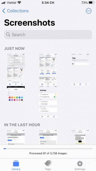 FlyScreen: Tìm kiếm ảnh chụp trên iPhone theo nội dung trong ảnh và trích xuất nó ra