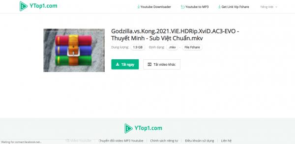 Tải file Fshare miễn phí bằng tài khoản VIP với YTop1