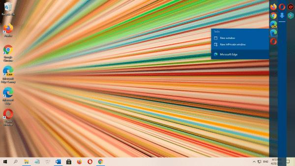 Linkbar: Tạo 101 thanh tác vụ lên màn hình desktop