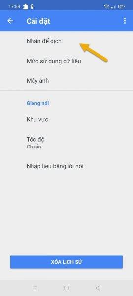 Cách dịch văn bản với Google Translate không cần chuyển ứng dụng