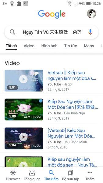 Cách tìm kiếm bài hát với Google nhanh hơn thông qua lối tắt