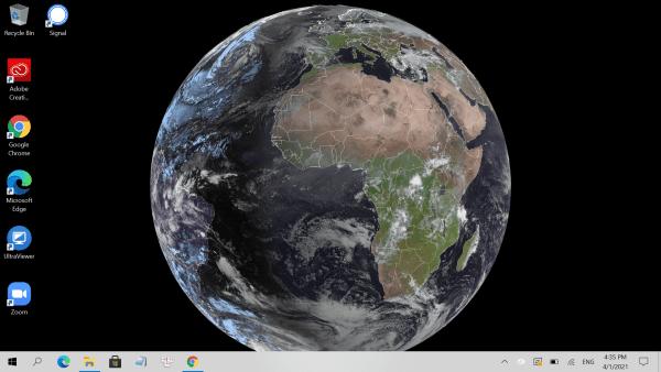 SpaceEye: Ngắm Trái Đất từ desktop máy tính Windows 10