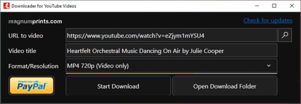 YouTube Fast Downloader: Công cụ nhỏ gọn tải video, âm thanh YouTube