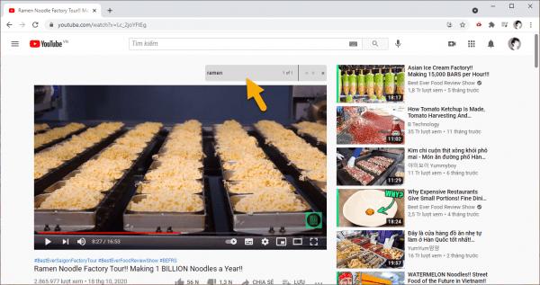 YouTube Word Search: Tìm nhanh đến đoạn video dựa trên từ khóa
