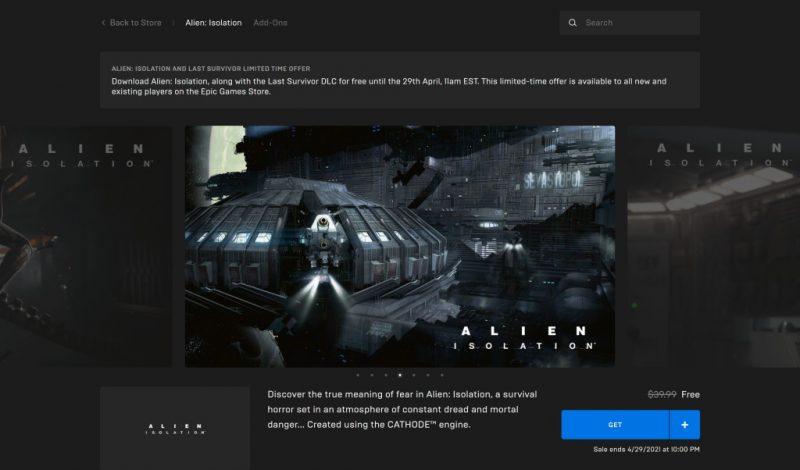 Đang miễn phí game Alien: Isolation cùng DLC Last Survivor
