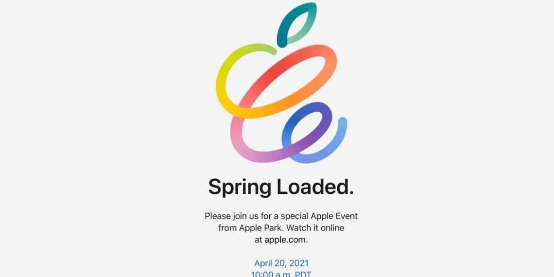 Apple chính thức công bố sự kiện ngày 20 tháng 4: 'Spring Loaded'