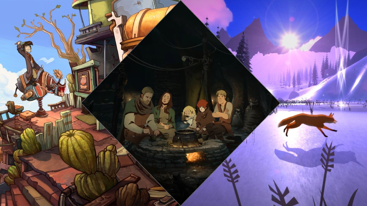Đang miễn phí 3 game Deponia: The Complete Journey, Ken Follett's The Pillars of the Earth và The First Tree