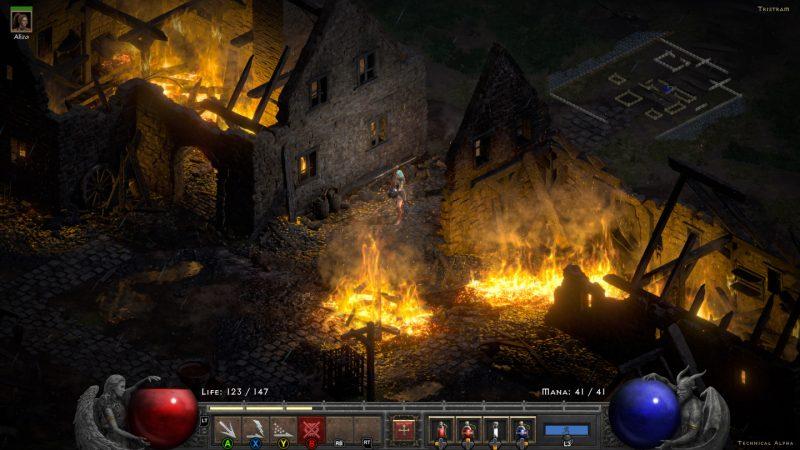 Trải nghiệm game Diablo II: Resurrected