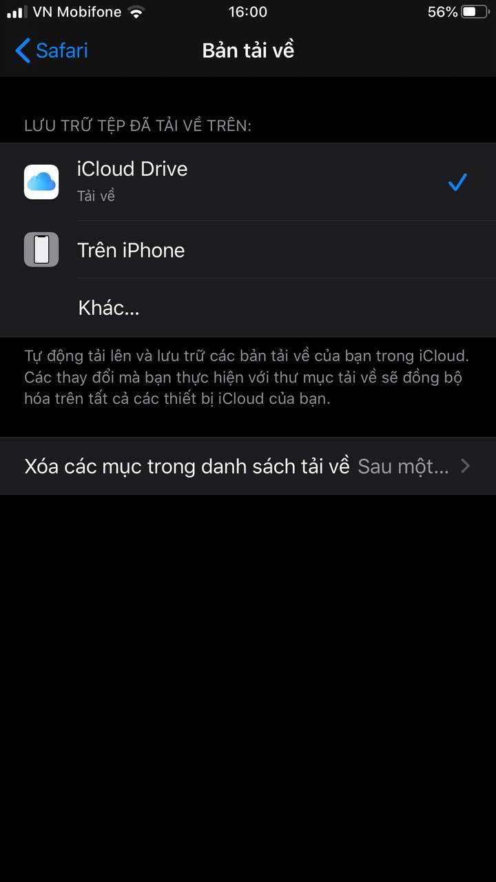 """Cách xoá mục """"Tài liệu & dữ liệu"""" trên iPhone"""