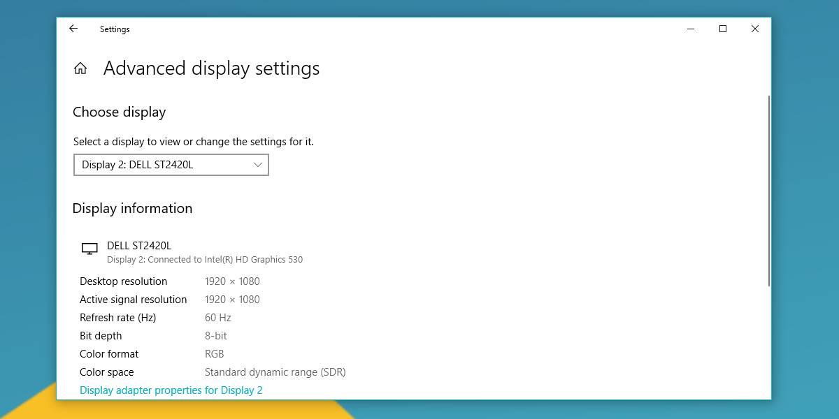 Xem model màn hình trên Windows 10