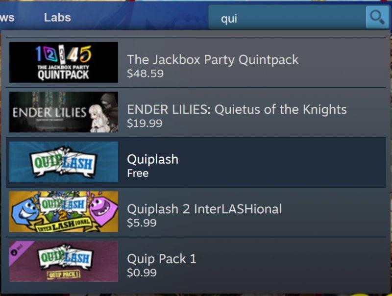 Đang miễn phí game Quiplash