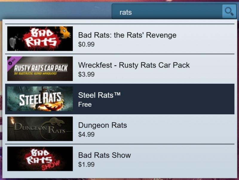 Đang miễn phí game Steel Rats chỉ 48 tiếng