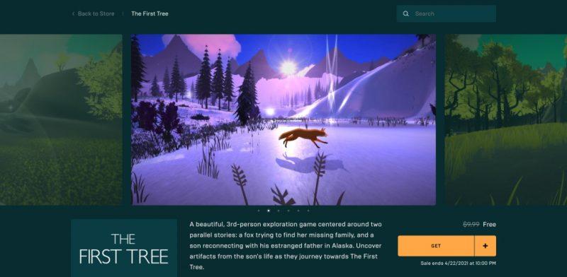 Đang miễn phí game The First Tree
