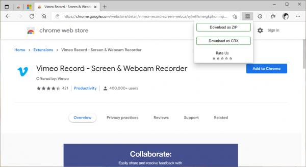 Cách tải, trích xuất chủ đề và tiện ích mở rộng trên Chrome Web Store