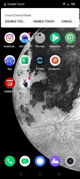 Cách vô hiệu cảm ứng của màn hình Android