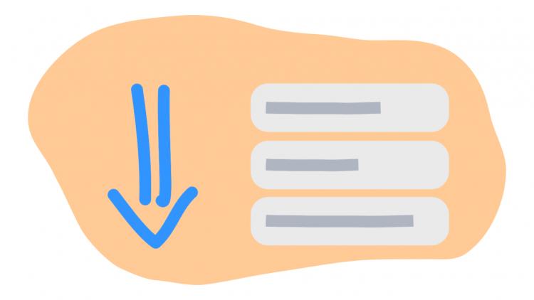 Cách sao chép nội dung, tư động cuộn lên/xuống trang web