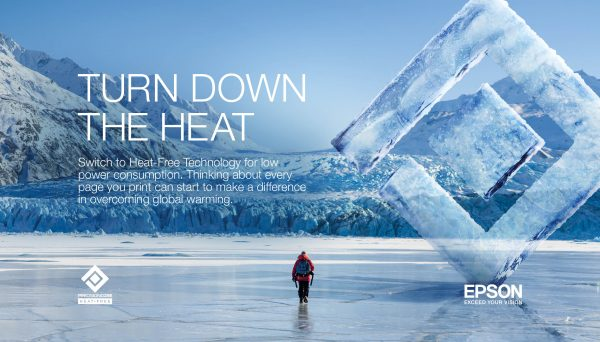 """Epson hợp tác với National Geographic trong chiến dịch """"Turn Down the Heat"""""""