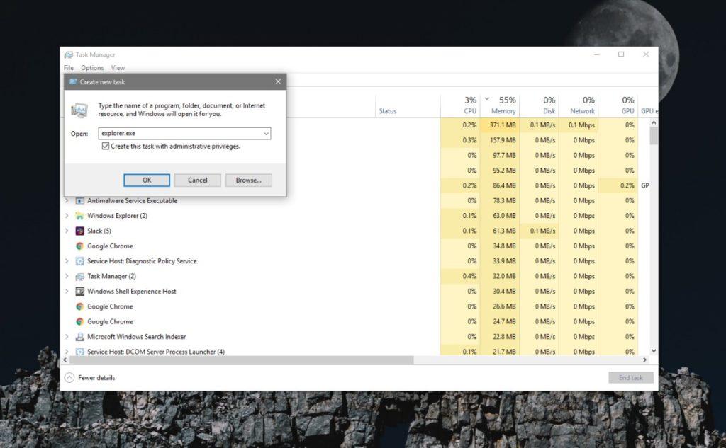 Cách chạy File Explorer với quyền admin trên Windows 10