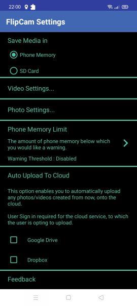 FlipCam: Quay video bằng camera trước và sau trên Android